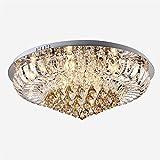 # Deckenlampe K9 Kristall Deckenleuchte, Runde Led Energiesparlampe Schlafzimmer Restaurant Lichter Luxus Beleuchtung Lampen Deckenleuchter ( größe : 80cm )