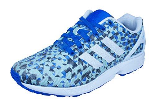 Adidas Zx Flux Weave, Senakers À Collo Basso, Bleu Unisexe