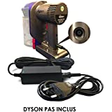 ABC Products® Remplacement Dyson DC 16.75V / DC 24.35V Adaptateur Secteur / Batterie Chargeur Mur Cable Pour DC30, DC31, DC34, DC35, DC43H, DC44, DC56, DC57 Multi Floor / Animal / Handheld Cordless Aspirateur / Vacuum Cleaner / Hoover etc