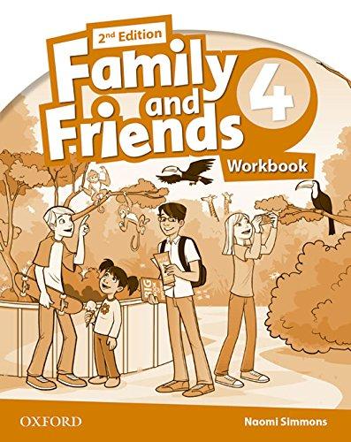 Family & Friends 4. Activity Book - 2ª Edición (Family & Friends Second Edition) - 9780194811446 por Naomi Simmons