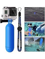 XCSOURCE® Monopod Buceo Manija de Mano del Apretón de Flotante Floating + Tornillos+ Accesorios Flotantes de Muñeca Strap para GoPro Hero 2 3 3 + 4 OS98 Azul