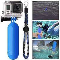 XCSOURCE® Einbeinstativ Schwimmer Hand Grip+ Schraube+ Handgelenk Gurt Zubehörteil für GoPro Hero 2 3 3 + 4 SJ4000 SJ5000 Blau OS098