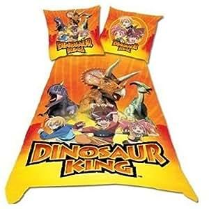 Dinosaur King DBO Parure Linge de Lit 200 x 140 cm