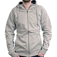 TMG® Uomo Donna Sport Designer Casual Maniche lunghe Zip Felpe