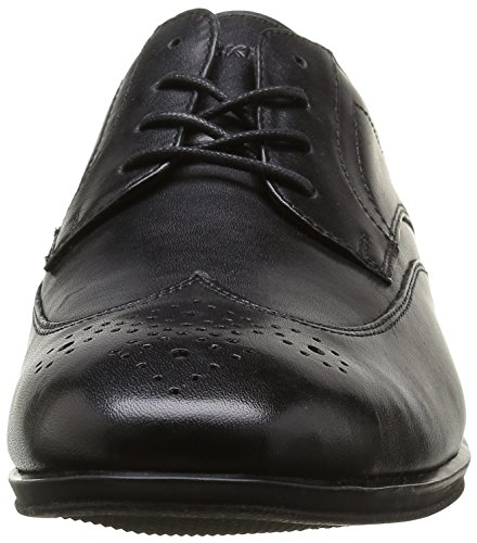 Rockport Style Connected Wingtip, Brogues Homme Noir (Black )