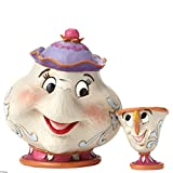 Enesco Disney Traditions Mrs. Potts and Chip Figure+D85