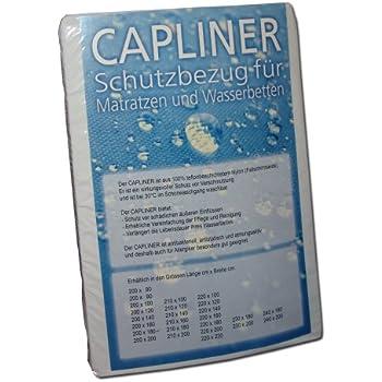 140 x 200 cm Aqua Sense Topliner Capliner Schonbezug Protector Staubschutz f/ür Wasserbetten und Normale Matratzen