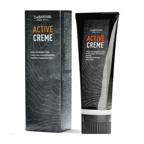 Creme Schuhcreme (Lowa Schuhcreme Imprägniermittel Schuhpflege Active Creme 75 ml farblos)
