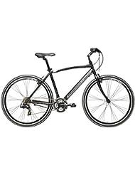 "Bicicleta Híbrida Cicli Adriatica Boxter FY hombres Cuadro de aluminio 28"" 21 velocidades Talla 55 Negro"