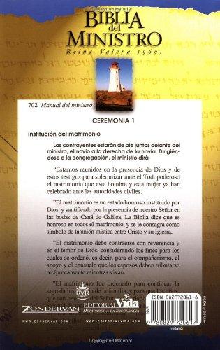 Biblia del Ministro-RV 1960