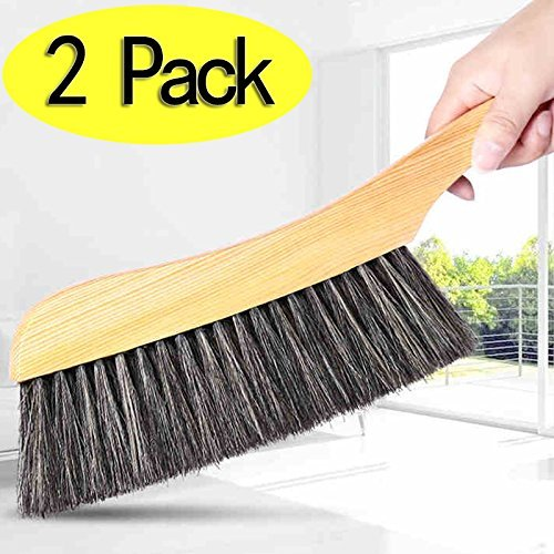 soft-cleaning-brush-2pcs-wood-handle-hotel-family-clothes-dust-hair-sofa-bed-sheets-bedspread-carpet