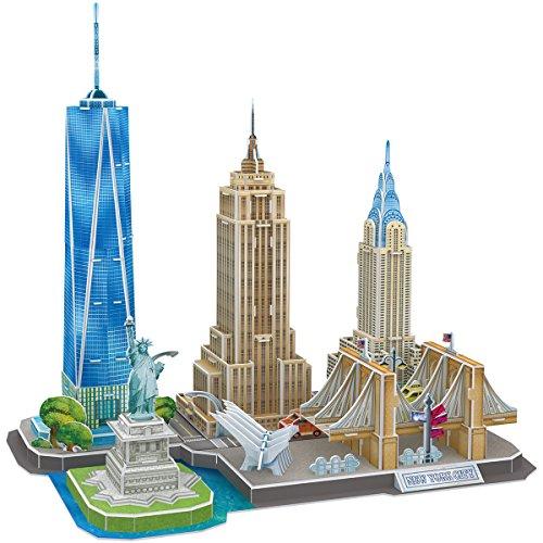 CubicFun Puzzle 3D Line New York City (Tachan MC255h)