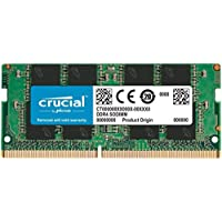 Crucial CT8G4SFRA266 Memoria RAM de 8GB (DDR4, 2666 MT/s, PC4-21300, SODIMM, 260-Pin)