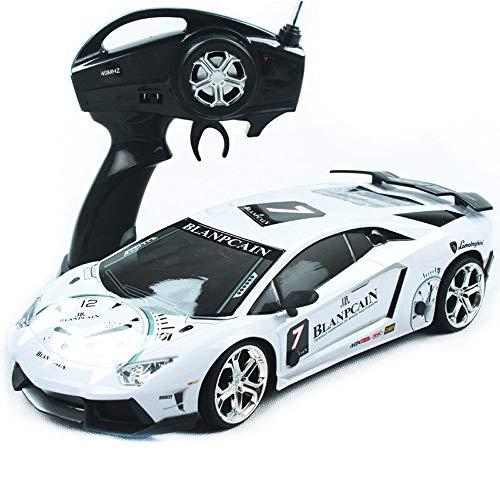Kikioo Hochgeschwindigkeits-Monster 2,4 GHz RC-Rennwagen im Maßstab 1:12 4x4 RTR-Fernbedienung Rennwagen mit Drift 360 ° -Drehung Stunt-Drift Buggy-Rennen Geländelastwagen Geländewagen 45 km/h Gesch - Toy 4k Story