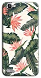 Mixroom - Cover Custodia Case In TPU Silicone Morbida Per Huawei Ascend P8 Lite Smart M616 Fiori Rosa Strelitzia