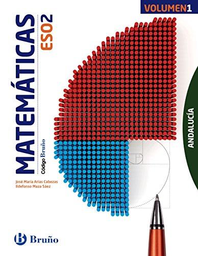 Código Bruño Matemáticas 2 ESO Andalucía3 volúmenes