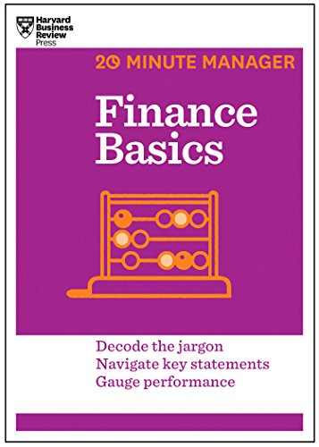 Finance Basics (HBR 20-Minute Manager Series) Cover Image