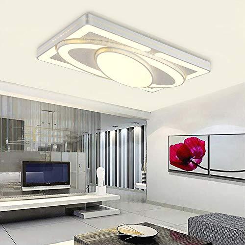 MYHOO 78W LED Deckenlampe Kreative Deckenleuchte für Wohnzimmer Schlafzimmer Küchen Lampe Warmweiß(3000K-3500K) [Energieklasse A++]