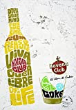 Havana Club Metall Dose Schild Werbung Wand Schild retro Art Pub Bar Club Man Cave groß