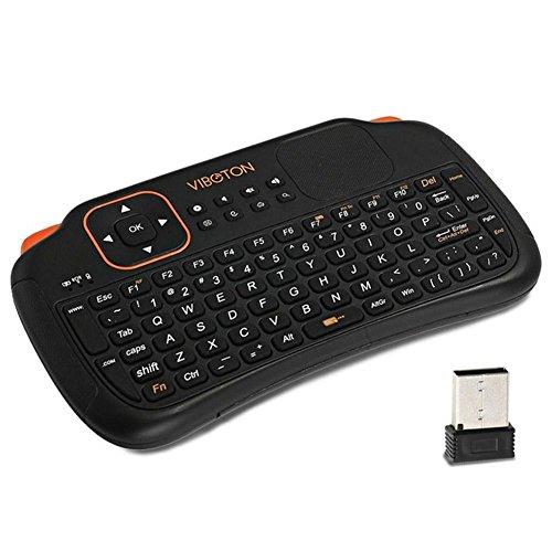 2fb285eb446 Viboton Mini Wireless Keyboard for PC / Pad / Andriod / Google TV Box /  XBOX360