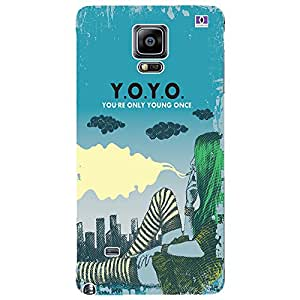 Y.O.Y.O. - Mobile Back Case Cover For Samsung Galaxy Note 4 Edge