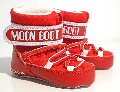 Bild von Moon Boot Moonboots Tecnica Stiefel Babyschuhe Klettverschluss rot