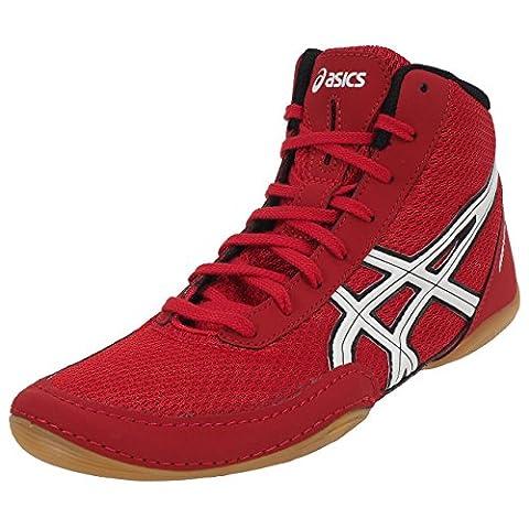 Asics - Matflex rouge lutte - Chaussures de lutte - Rouge - Taille 44