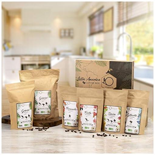 ☘️ Organic Coffee Beans ● Arabica Organic Whole Beans ● Hand Roasted