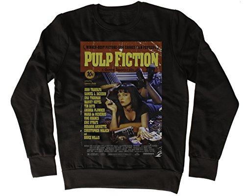 Uk print king Pulp Fiction Red Poster Funny Gift Designer Unisex Sweatshirt