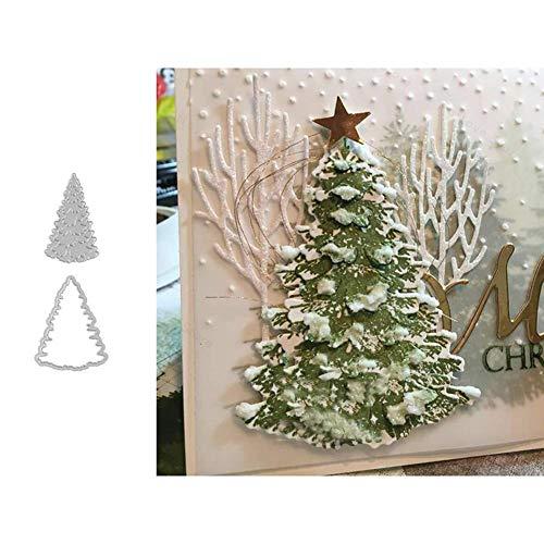 Reeseiy Weihnachten Stanzschablone Weihnachtsbaum Stanzbögen Stanzmaschine Stanzformen Für Scrapbooking Kartenbastel Casual Chic Silber Sale Burobedarf Täglich Gebrauch Produkt