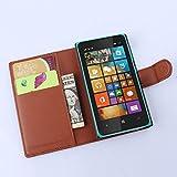 Manyip Coque Microsoft Nokia Lumia 435, Téléphone Coque - PU Cuir Rabat Wallet...