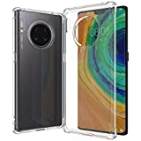 Cover Huawei Mate 30 Pro Mobile Phone Anti-Drop Transparent Soft Case Silicone Protective Cover
