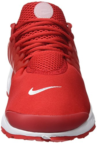 Nike Herren Air Presto Essential Trainer Rot (University Red/university Red/white)