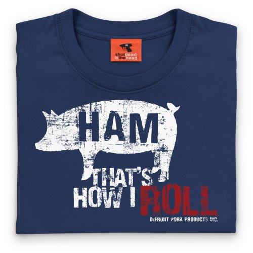 General Tee Ham T-Shirt, Damen Dunkelblau