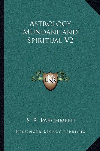 Astrology Mundane and Spiritual V2