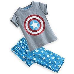 Disney Capitán América pijama para niñas