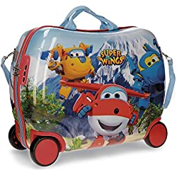 Super Wings Mountain Equipaje infantil, 34 litros, Varios colores