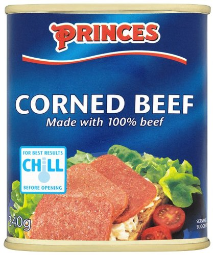 Princes Corned Beef la boite de 340 g