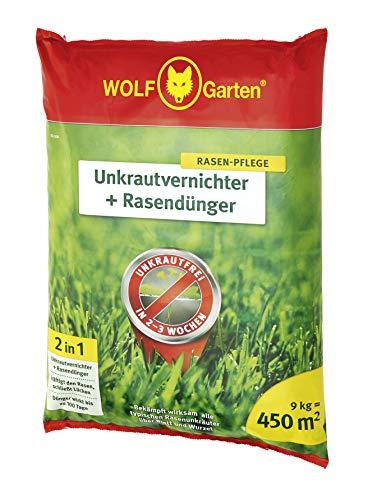 WOLF-Garten - 2-in-1: Unkrautvernichter plus Rasendünger SQ 450; 3840745 -