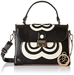 Ladida Ladida Collection Womens Satchel (Black) (2017-16 BLACK)