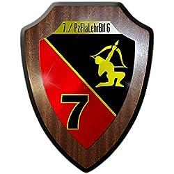 Escudo Cartel 7pzflal ehrbtl 6tanque Flak Batallón De Enseñanza nemátodos Pueblo Bundeswehr nadadores Escudo Flak tanque de guepardo Recuerdo # 21681