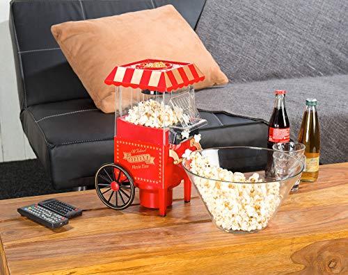 Rosenstein & Söhne – Heißluft – Popcornmaschine – Retro - 7