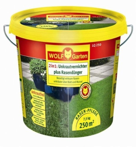 Preisvergleich Wolf Garten Lq250 Unkrautvernichter Mit Rasendunger Fur
