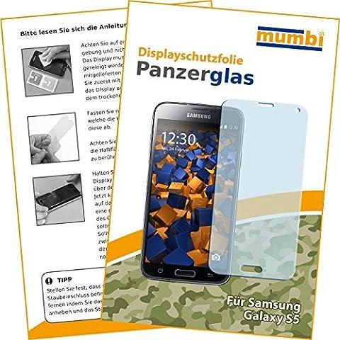 mumbi Panzerfolie Samsung Galaxy S5 S5 Neo Glasfolie Hartglas 9H