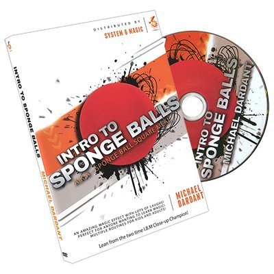 Intro to Sponge Balls by Michael Dardant - DVD - DVD and Didactis - Tours et magie magique