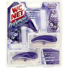 WC Net – Tabla Igienizzante + Ambientador D ambiente – 4 paquetes de 2 ...