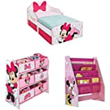 Minnie Mouse Kids Bedroom Set by HelloHome