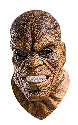 achsene Deluxe Killer Croc Maske Suicide Squad Kostüm Zubehör (Halloween Superhelden-augen-masken)