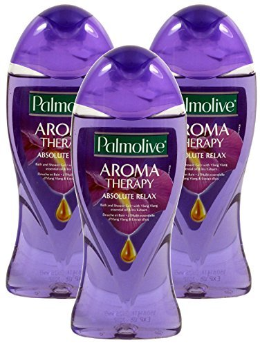 3x Palmolive Duschgel / Absolute Relax je 250ml / Aroma Therapy mit ätherischem Öl von YLang Ylang & Iris-Extrakt