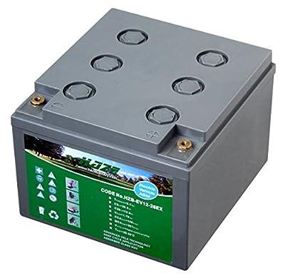 12V 33Ah Haze High Output Sealed Lead Acid (AGM) Mobility Scooter Battery